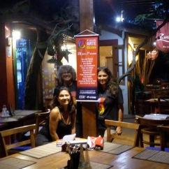 Morgana Soto Maior, Restaurante International